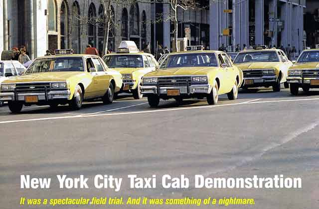 New York City Taxi Cab Field Trial